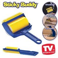 Uygun Yapışkanlı Kıl Tüy Temizleme Seti Sticky Buddy