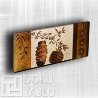 Doku - El Yapımı Sanatsal Kasnaklı Tablo