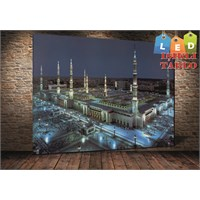 Tablo İstanbul Medine Led Işıklı Kanvas Tablo 45 X 65 Cm