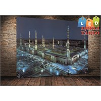 Tablo İstanbul Medine Led Işıklı Kanvas Tablo 60 X 90 Cm