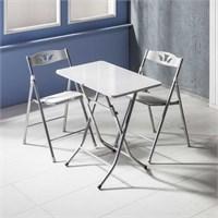 Vural Katlanır Kırma Katlanabilir Masa Sandalye Takımı-50X80