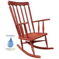 Maxxdepo Crocus Eskitme Kırmızı Sallanan Sandalye