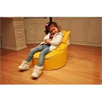 Pufumo Twingo Çocuk Armut Koltuk ( Sarı )