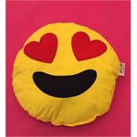 Pufumo Emoji Yastık ( Kalpli )