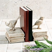 İhouse Polyesterden İmal Kuş Figürlü Kitap Tutacağı 20X12x16cm