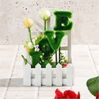İhouse Aşk Temalı Dekoratif Hediyelik Yapay Çiçek 15X9x25cm