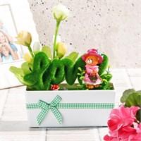 İhouse Aşk Temalı Dekoratif Hediyelik Yapay Çiçek 17X7x24cm