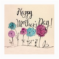 Dekorjinal Anneler Günü Mdf Tablo Mday028