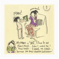 Dekorjinal Anneler Günü Mdf Tablo Mday038