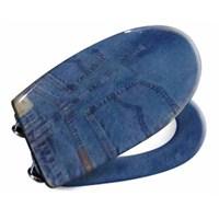 Penta Pk301 Blue Jeans Desenli Klozet Kapağı (Akdeniz-Kelebek)