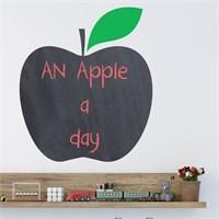 Dekorjinal Elma Yazılabilir Yaz Sil Sticker Ys38