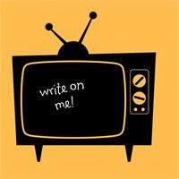 Dekorjinal Televizyon Yazılabilir Yaz Sil Sticker Ys46
