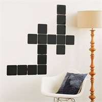 Dekorjinal Scrabble Kareleri Yazılabilir Yaz Sil Sticker Ys75