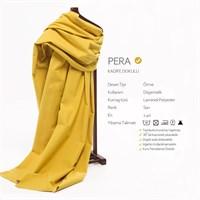 Evdebiz Pera Döşemelik Kumaş Sarı (Point Retro Life Sarı)
