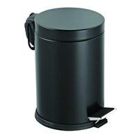 Baneva Pedallı Çöp Kovası Siyah 16 Litre