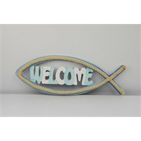 Cosiness Balık Welcome Kapı Süsü