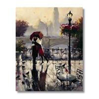 Ritmo-Yağmurda Aşk Kanvas Tablo