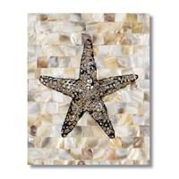 Ritmo-Mozaik Denizyildizi Kanvas Tablo