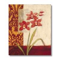 Ritmo-Kırmızı Çiçekler Kanvas Tablo