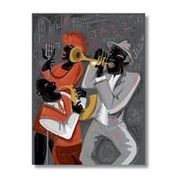 Ritmo-Jazzın Rıtmı Kanvas Tablo