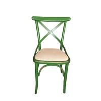 Albero Home 2Li'eskitilmiş Hasırlı Sandalye