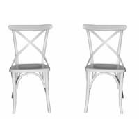 Albero Home 2Li'thonet Sandalye Beyaz