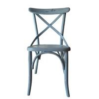 Albero Home Subazlı Thonet Sandalye Mavi