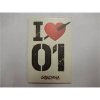 Goadana Magnet Mdf I Love 01