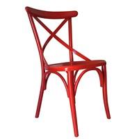 Albero Home Thonet Sandalye Kırmızı