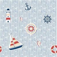 Golden Kids Gemi Desenli Çocuk Odası Duvar Kağıdı