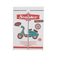 Prado Basic Portatif Bez Dolap Scooter