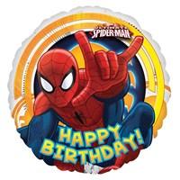 Pandoli 45 Cm Folyo Balon Ultimate Spiderman Happy Birthday