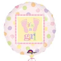 Pandoli 45 Cm Folyo Balon Babysteps Girl