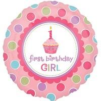 Pandoli 45 Cm Folyo Balon Shape Sweet Little Cupcake Girl