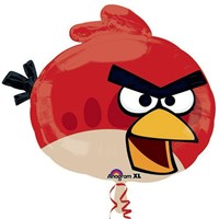 Pandoli Supershape Folyo Angry Bird Red Balon