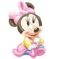 Pandoli Supershape Folyo Minnie 1St Birthday Balon