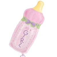 Pandoli Supershape Folyo Baby Bottle Girl Balon