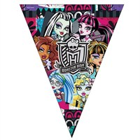 Pandoli Monster High Klasik Üçgen Bayrak Set