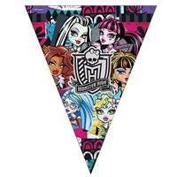 Pandoli Monster High Klasik Üçgen Bayrak Set