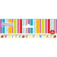 Pandoli Deluxe Birthday Banner
