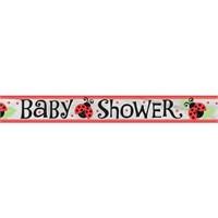 Pandoli Lively Uğur Böceği Baby Shower Folyo Banner
