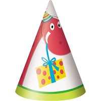Pandoli Dino Birthday Külah Şapka 8 Adet