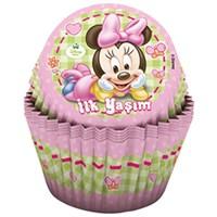 Pandoli Disney Baby Minnie Cupcake Kabı 24 Adet