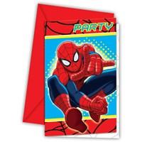 Pandoli The Ultimate Spiderman Davetiye 6 Adet