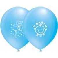 Pandoli 10 Lu It İs A Boy Baskılı Pastel Balon