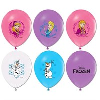 Pandoli 100 Adet Frozen Baskılı Renkli Latex Balon