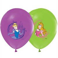 Pandoli 10 Lu Prenses Baskılı Latex Renkli Balon