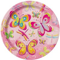 Pandoli Butterflies Dragonflies Tabak 23 Cm 8 Ad