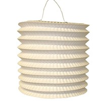 Pandoli Beyaz Renk Gemici Feneri Akordeon Uzar Süs