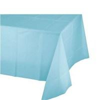 Pandoli Plastik Parti Masa Örtüsü Mavi Renk